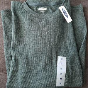 Nwt men's thermal size medium green
